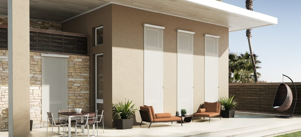 Exterior Shades suitable for your outdoor will not attract mildew or stains