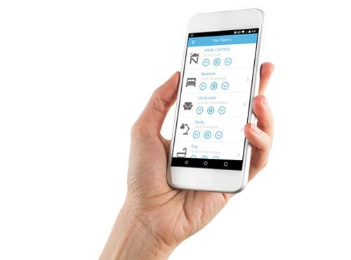 remote blinds smart apps